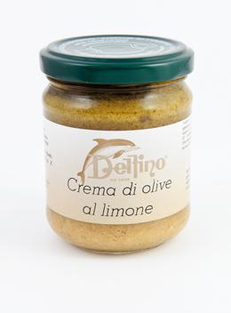 Crema di Olive al Limone - Delfino