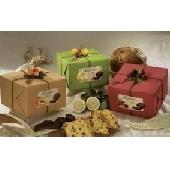 Panettone Glassati con Gocce di Cioccolato Fondente e Frutta Candita Pasticcheria Flamigni