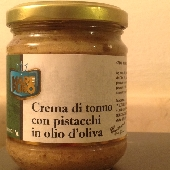 Crema di Tonno e Pistacchi in Olio di Oliva