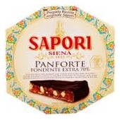 Sapori Siena Panforte Fondente Extra