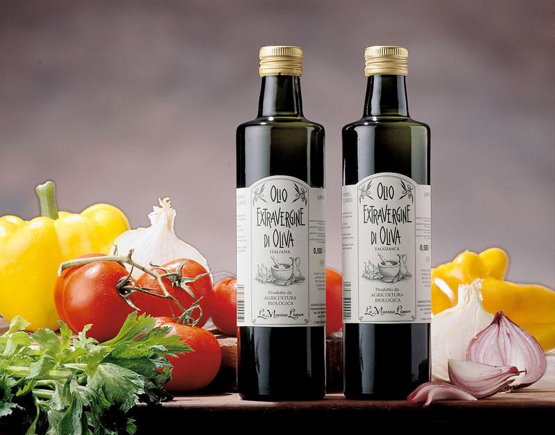 Olio Extravergine di Oliva Biologico - 100% Italiano Cultivar Taggiasca - La Macina Ligure