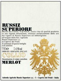 RUSSIZ SUPERIORE MERLOT