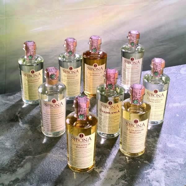 Graduata  La Grappa Monovitigno  Dolcetto - Antica Distilleria Sibona
