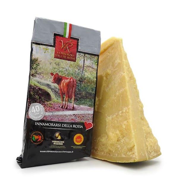Parmigiano Reggiano Vacche Rosse stagionato 48 mesi
