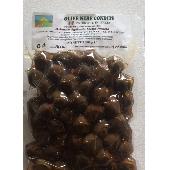 Olive Nere condite biologiche  denoccialate - Az.Agricola Melia