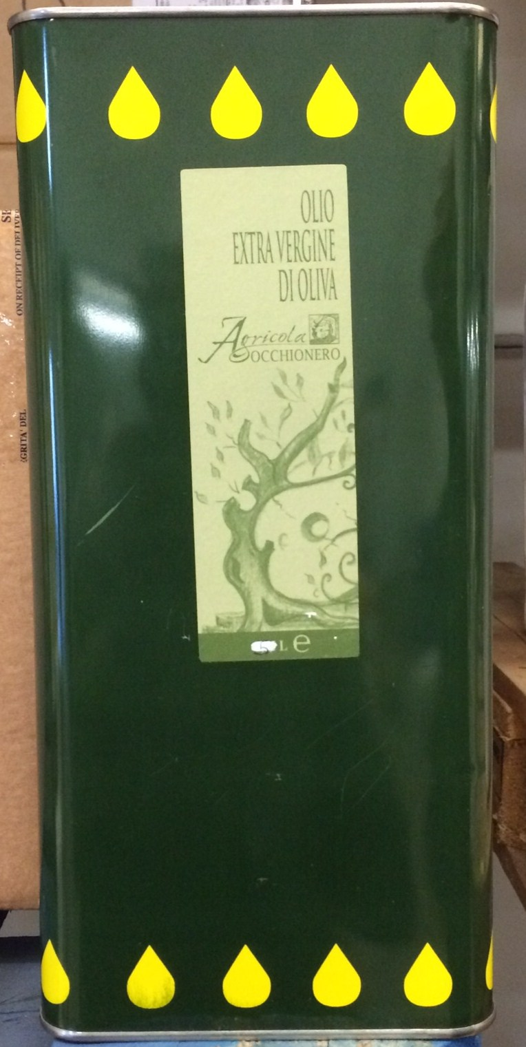 Olio Extravergine di Oliva del Molise  - Occhionero