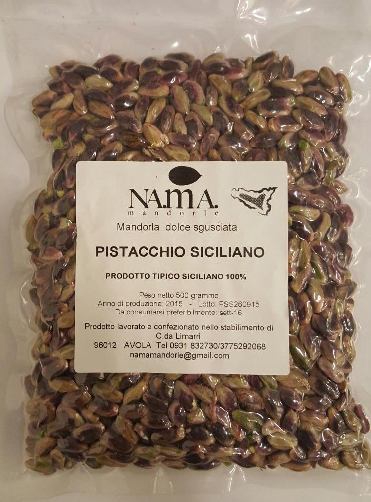 Pistacchi Sgusciati Sicilia - Nama Mandorle