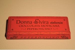 Cioccolato di Modica al Peperoncino - Donna Elvira Dolceria