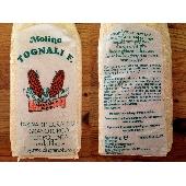 Farina Integrale di  Granturco spinato rosso con fibra di germe macinata a pietra - Molino Tognali