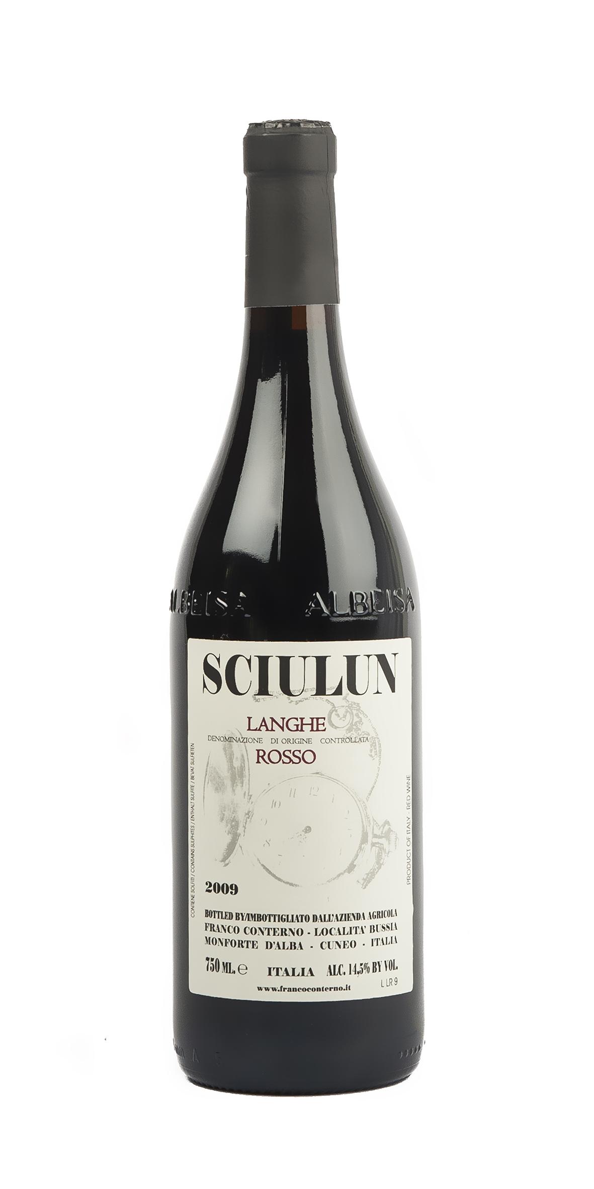 SCIULUN LANGHE DOC ROSSO 2011 - FRANCO CONTERNO