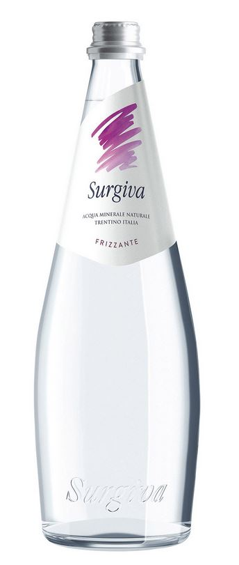 Acqua Minerale Naturale Surgiva - Frizzante