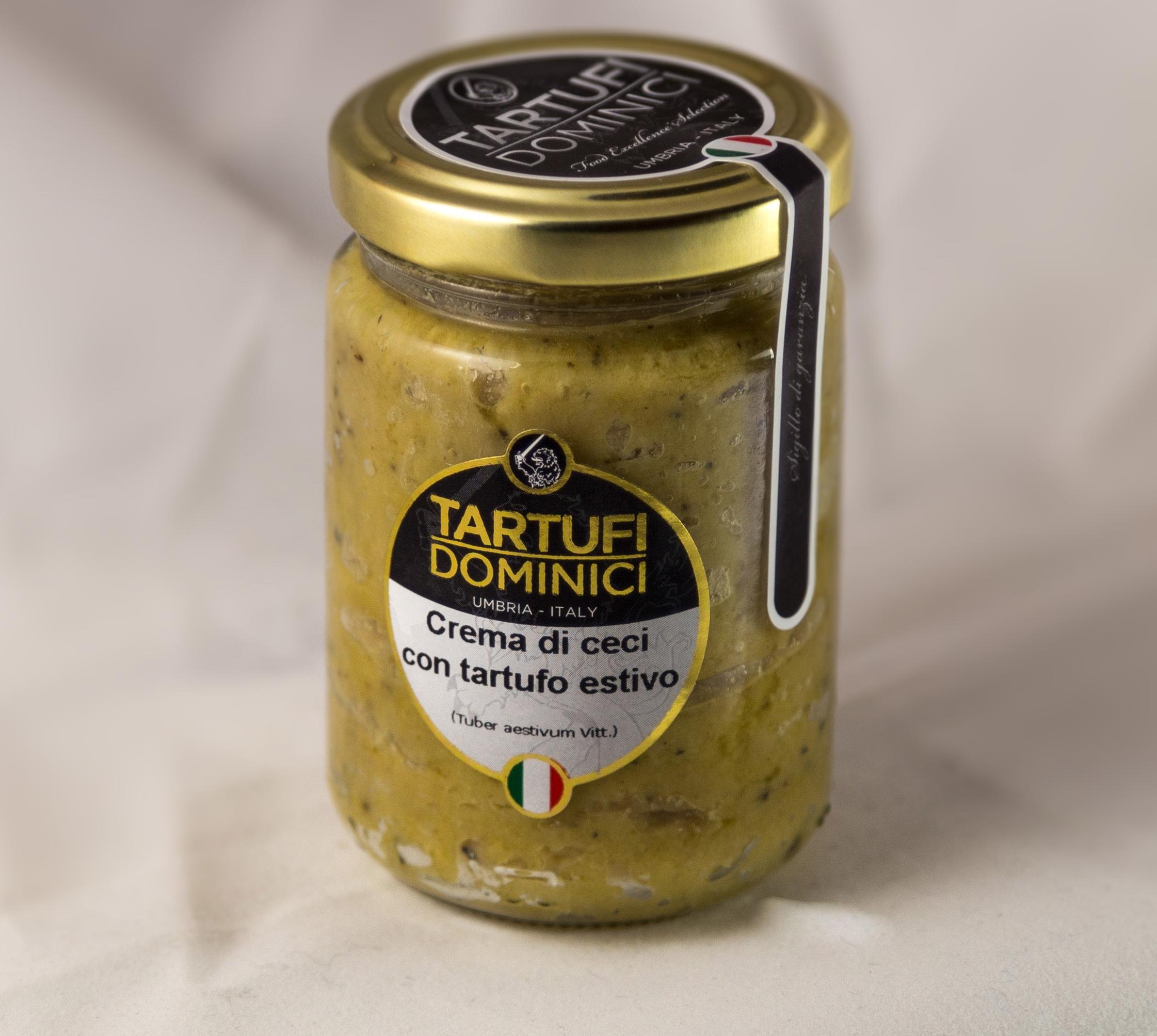 Crema di ceci con tartufo estivo - Tartufi Dominici