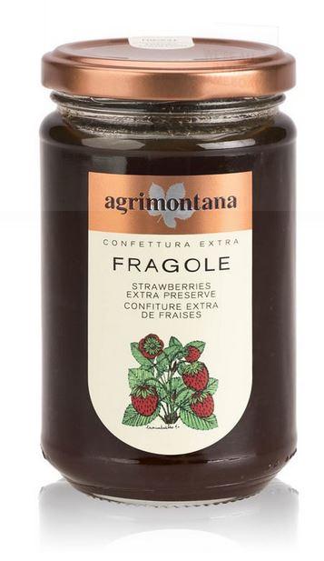 Confettura extra di fragole - Agrimontana