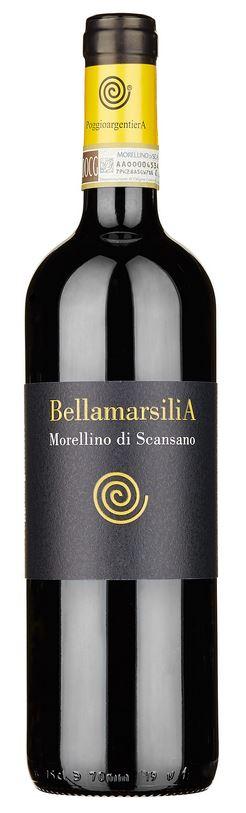 Morellino di Scansano DOCG Bellamarsilia - PoggioargentierA