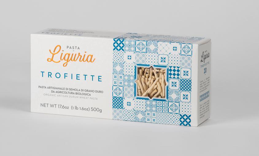 Trofiette pasta di semola di grano duro da agricolturo Biologica -  Pasta di Liguria