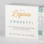 Croxetti  Pasta di semola di grano duro BIO - Pasta di Liguria